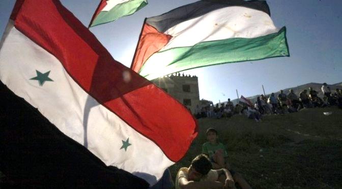 سوريا وفلسطين بث مباشر