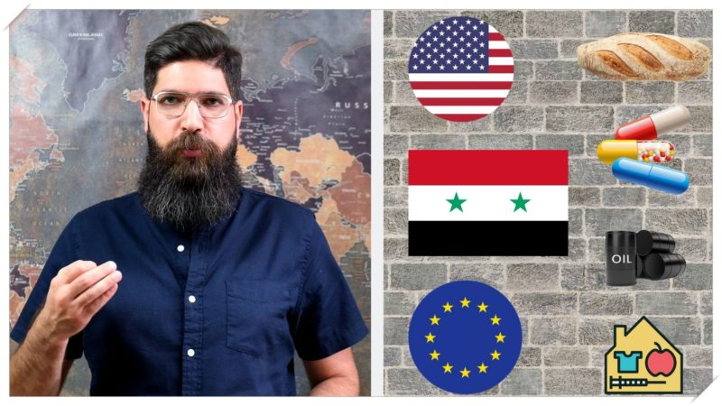 The USA & EU to Syria: kneel or starve!